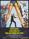 "Movie Posters:James Bond, For Your Eyes Only (United Artists, 1981). French Petite (15.5"" X21""). James Bond.. ..."