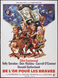 """Movie Posters:War, Kelly's Heroes (MGM, 1971). French Grande (47"""" X 63""""). War.. ..."""