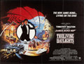 "Movie Posters:James Bond, The Living Daylights (United Artists, 1987). British Quad (30"" X40""). James Bond.. ..."