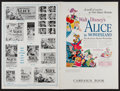 """Movie Posters:Animation, Alice in Wonderland (RKO, 1951). Uncut Pressbook (Multiple Pages,12"""" X 18""""). Animation.. ..."""