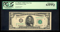 Small Size:Federal Reserve Notes, Fr. 1966-B* $5 1950E Federal Reserve Star Note. PCGS Choice New 63PPQ.. ...