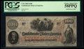 Confederate Notes:1862 Issues, T41 $100 1862. PF-55 Cr. 330A. . ...