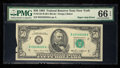 Error Notes:Foldovers, Fr. 2122-B $50 1985 Federal Reserve Note. PMG Gem Uncirculated 66EPQ.. ...