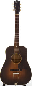 Musical Instruments:Acoustic Guitars, 1940s Gibson L-37 Sunburst Acoustic Guitar, #443....