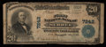 National Bank Notes:Kentucky, Sebree, KY - $20 1902 Plain Back Fr. 650 The First NB Ch. # 7242....