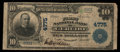 National Bank Notes:West Virginia, Ceredo, WV - $10 1902 Plain Back Fr. 628 The First NB Ch. # 4775....