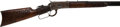 Long Guns:Lever Action, Uniquely Carved Winchester Model 1892 Lever Action Rifle. ...