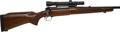 Long Guns:Bolt Action, .308 Win. Pre-64 Winchester Featherweight Model 70 Bolt ActionRifle with Scope....
