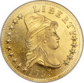 Early Eagles, 1795 $10 13 Leaves MS64 NGC. BD-1, High R.3....