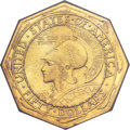 Commemorative Gold, 1915-S $50 Panama-Pacific 50 Dollar Octagonal -- Improperly Cleaned-- NCS. AU Details. ...
