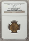 Civil War Merchants, (1861-65) C.J. Piper, Charlotte, MI, F-160D-1b, R.7, MS62 NGC..Purchased from James Kelly (5/7/1943) for 40 cents..F...