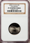 Proof Statehood Quarters, 2006-S 25C Colo. Clad PR70 Ultra Cameo NGC. NGC Census: (0). PCGSPopulation (217). Numismedia Wsl. Price for problem free...