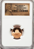 Proof Lincoln Cents, 2009-S 1C Bronze Presidency PR69 Red Ultra Cameo NGC. NGC Census:(11672/2108). PCGS Population (4174/289). Numismedia Wsl...