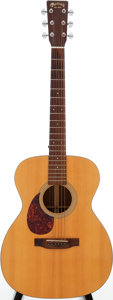 Musical Instruments:Acoustic Guitars, 1994 Martin OM-21L Natural Acoustic Guitar, Serial # 555471....