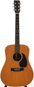 Musical Instruments:Acoustic Guitars, 1969 Martin D-28 Natural Acoustic Guitar, Serial # 251756....