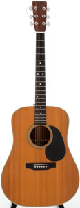 Musical Instruments:Acoustic Guitars, 1969 Martin D-28 Natural Acoustic Guitar, Serial # 250510....