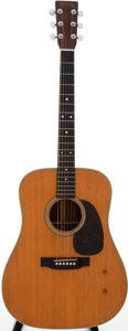 Musical Instruments:Acoustic Guitars, 1966 Martin D-28 Natural Acoustic Guitar, Serial # 209114....