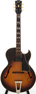 Musical Instruments:Electric Guitars, 1954 Gibson ES-175 Sunburst Semi-Hollow Body Electric Guitar,Serial # A 17844....