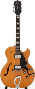 Musical Instruments:Electric Guitars, 1965 Guild CE-100D Natural Archtop Electric Guitar, Serial #41554...