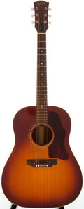 Musical Instruments:Acoustic Guitars, 1969 Gibson J-45 Sunburst Acoustic Guitar, Serial # 814100....