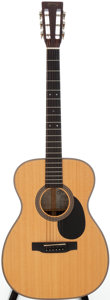 Musical Instruments:Acoustic Guitars, 1998 Martin 00-16DBR Natural Acoustic Guitar, Serial # 637645....