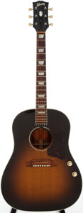 Musical Instruments:Acoustic Guitars, 2002 Gibson J-160E Sunburst Acoustic Electric Guitar, Serial # 01542021....