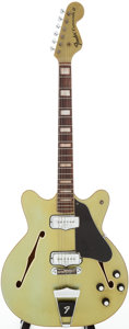Musical Instruments:Electric Guitars, 1967 Fender Coronado II Blue Ice Metallic Semi-Hollow Body ElectricGuitar, Serial # 504129....