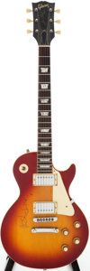 Musical Instruments:Electric Guitars, 1972 Gibson Les Paul Standard Cherry Sunburst Solid Body ElectricGuitar, Serial # 617052....