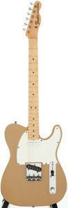 Musical Instruments:Electric Guitars, 1968 Fender Telecaster Firemist Gold Solid Body Electric Guitar,Serial # 236464....
