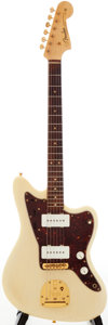Musical Instruments:Electric Guitars, 1961 Fender Jazzmaster Blonde Solid Body Electric Guitar, Serial #56138....