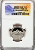 Proof National Parks Quarters, 2010-S 25C Mount Hood National Forest Clad PR69 Ultra Cameo NGC.PCGS Population (1072/198). (#418849)...