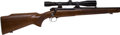 Long Guns:Bolt Action, .243 Win Pre-64 Winchester Featherweight Model 70 Bolt Action Riflewith Telescopic Sight.. ...
