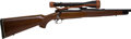 Long Guns:Bolt Action, .270 Win Pre-64 Winchester Transition Model 70 Super Grade BoltAction Rifle with Scope.. ...