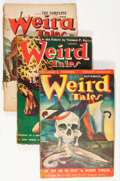 Pulps:Horror, Weird Tales Group (Popular Fiction, 1940-51) Condition: AverageGD.... (Total: 13 Items)