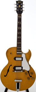 Musical Instruments:Electric Guitars, 1952 Gibson ES-175 Blonde Semi-Hollow Body Electric Guitar, Serial# A 10834....