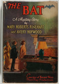 Books:Horror & Supernatural, [Jerry Weist]. Mary Roberts Rinehart and Avery Hopwood. The Bat. New York: Doran, [1926]. First edition, first p...