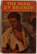 Books:Science Fiction & Fantasy, [Doc Savage]. Kenneth Robeson. The Man of Bronze. New York: Street & Smith, [1933]. First edition, first printing. O...