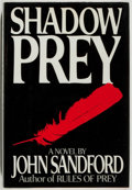 Books:Mystery & Detective Fiction, John Sandford. SIGNED. Shadow Prey. New York: Putnam's,[1990]. First edition. Signed by the author on the title-p...