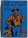 Books:Children's Books, [Scouting]. Lt.-Col. F. S. Brereton. Tom Stapleton the BoyScout. London: Blackie, [n.d., ca. 1911]. First editi...