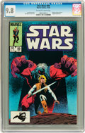 Modern Age (1980-Present):Science Fiction, Star Wars #89 (Marvel, 1984) CGC NM/MT 9.8 Off-white to whitepages....