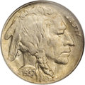 Buffalo Nickels: , 1937-D 5C Three-Legged MS64 NGC. FS-020.2. A famous andever-popular die variety, resulting from overzealous die polishing...