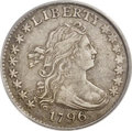 Early Dimes: , 1796 10C XF45 PCGS. JR-5, R.5. Along with JR-3, JR-5 is the rarestdie marriage for the date. JR-1 and JR-6 are the usually...