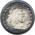 Early Dimes: , 1803 10C --Obverse Spot Removed, Improperly Cleaned--NCS. AUDetails. JR-4, R.5. A richly detailed piece with particularly b...