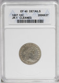 1807 10C --Cleaned--ANACS. XF40 Details. JR-1, R.2. The obverse has largely retoned in subtle gold-gray, though the reve...