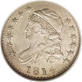 Bust Dimes: , 1814 10C STATESOF MS64 NGC. JR-5, R.3. The engraver's unduly widelayout of STATES and AMERICA forced minimal spacing betwe...