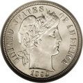 Barber Dimes: , 1893-O 10C MS66 NGC. A brilliant and shimmering Premium Gem. Anicely struck and nearly immaculate piece with a few minuscu...