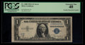 Error Notes:Obstruction Errors, Fr. 1608 $1 1935A Silver Certificate. PCGS Extremely Fine 40.. ...
