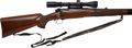 Long Guns:Bolt Action, Customized .308 Mag Pre-64 Winchester Model 70 Bolt Action Riflewith Telescopic Sight.. ...