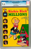 Silver Age (1956-1969):Humor, Richie Rich Millions #21 File Copy (Harvey, 1967) CGC NM+ 9.6 Off-white to white pages....