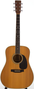 Musical Instruments:Acoustic Guitars, 1979 Martin D-35 Natural Acoustic Guitar, Serial # 410229....